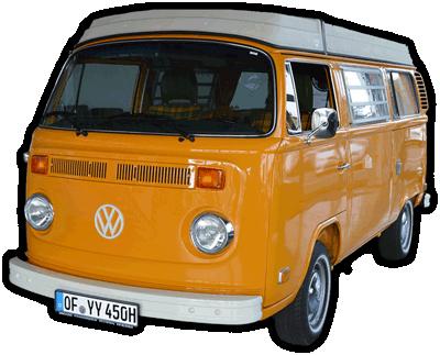 VW T2 Westfalia Bulli YY-450H